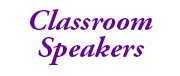 classroom speakers